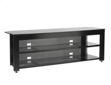 Black Three-shelf Widescreen Lowboy Rigid strength and contemporary design in an affordable package