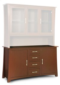 "Loft Hutch Base, 58"" Product Image"