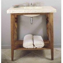 Integral Sink Crema Marfil Marble