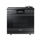 """36"""" Pro Dual-Fuel Steam Range, Graphite Stainless Steel, Natural Gas Product Image"""