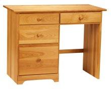 Dover 4 Drawer Desk -Drawers On Left