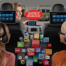 """Dual 10.1"""" Seat-Back Entertainment System"""
