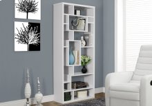 "BOOKCASE - 72""H / WHITE"