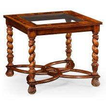 """Oyster & glomise Side Table (24"""")"""