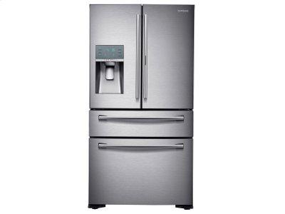 22 cu. ft. Counter Depth 4-Door French Door Food Showcase Refrigerator Product Image