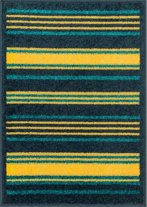 Navy / Multi Rug