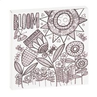 """""""Bloom"""" Magnet Block. Product Image"""