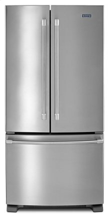 33-inch Wide French Door Refrigerator - 22 cu. ft.