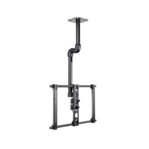 "Black Tilt & Swivel Ceiling Mount for 37"" - 70"" flat-panel TVs"