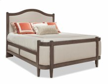 Queen Grand Upholstered Bed