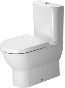 White Darling New Toilet Close-coupled