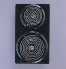Select-Top Downdraft Cooktop 2 Calrod® Module - Brushed Chrome