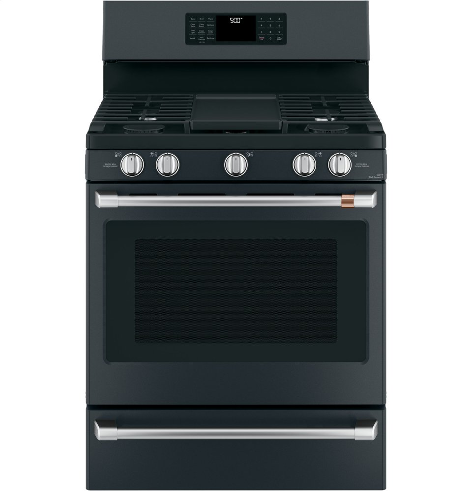 "Caf(eback) 30"" Free-Standing Gas Oven with Convection Range Photo #1"
