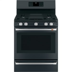"Cafe AppliancesCaf(eback) 30"" Free-Standing Gas Oven with Convection Range"