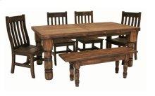 6' Dining Table Medio Finish