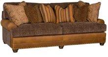 Casbah Leather/Fabric Sofa