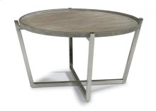 Platform Round Coffee Table