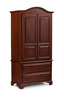 Classic Tall Armoire on Chest