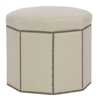 Dolly Ottoman in #6 Antique Brass Product Image