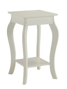 7089 White End Table