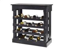 Wine Storage Chest - Black Finish
