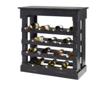 Wine Storage Chest - Black Finish