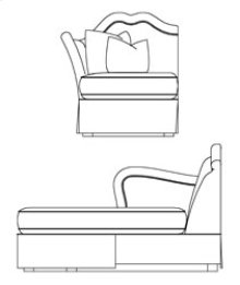 LAF Sectional Chaise