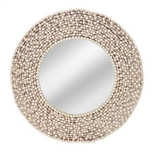 Siena Wood Bead Mirror