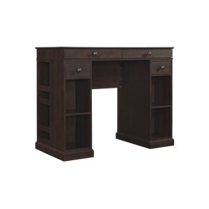 The handsome Emporia desk is countertop height with plenty of workspace. Th... -