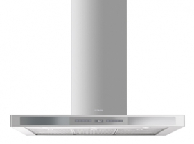 """Ventilation Hood, 90 cm (approx. 36""""), Stainless Steel"""