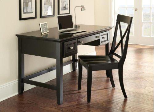 "Oslo Writing Desk, Black 54""x28""x30"""