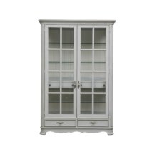Simply Charming Painted Display Cabinet
