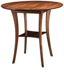 "Barbara 45"" Round Bar Table"