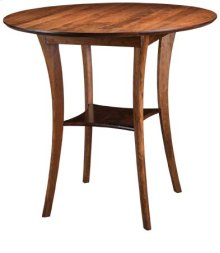 "Barbara 45"" Round Bar Table"