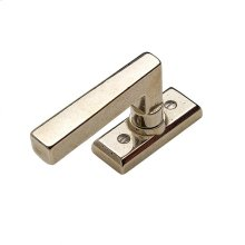 Rectangular Tilt & Turn Window Escutcheon - EW101 Silicon Bronze Brushed