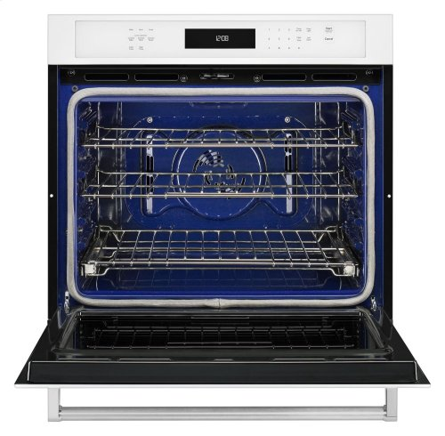 """30"""" Single Wall Oven with Even-Heat True Convection - White"""