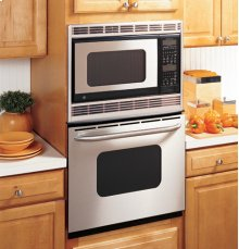 """GE® 27"""" Built-In Double Microwave/Thermal Wall Oven"""
