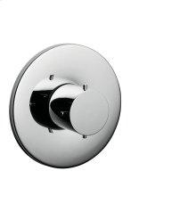 Chrome Shut-off valve for concealed installation