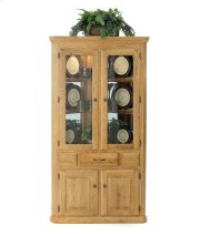 Corner Hutch w/ 2 Full Doors Product Image