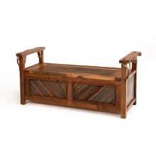 Western Traditions - Durango Lift Top Bench Without Back