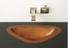Luna Self-rimming or Undermount Sink Weathered Bronze