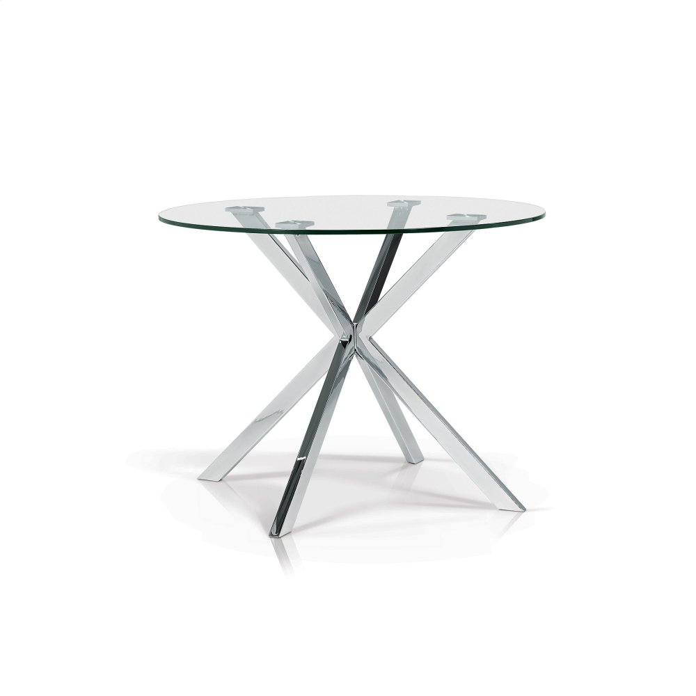 SYT1202 In By Korson Furniture In Waterloo, ON   Darron Round Glass Top  Dining Table