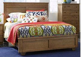 Diego King Panel Bed