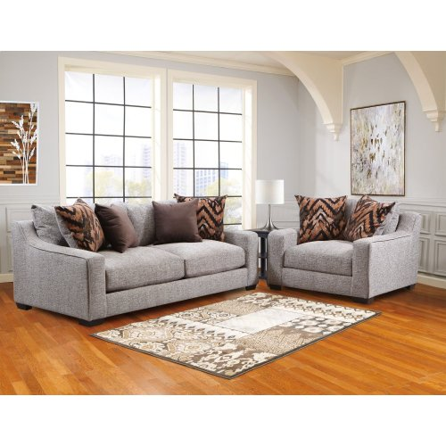 1400HOMESPUNPLATINUMSOFA in by American Furniture Manufacturing in ...
