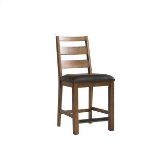 Dining - Taos Ladder Back Counter Stool with Cushion