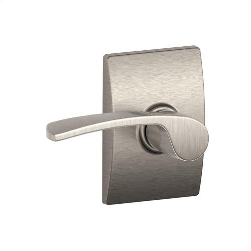 Merano lever with Century trim Hall & Closet lock - Satin Nickel