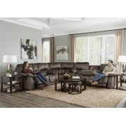 Power Headrest Power Lay Flat Recl w/Ext Ottoman Product Image
