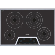 """Masterpiece 30"""" Electric Cooktop with Touch Control CET304FS"""