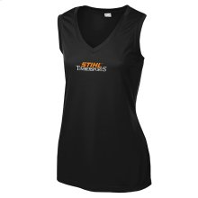 Ladies, own the STIHL TIMBERSPORTS® look with this tank top.