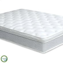 Twin-Size Bird Of Paradise Euro Pillow Top Mattress